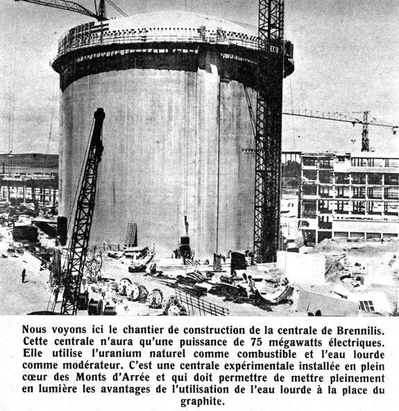 Brennilis_SA_n215_janvier1965 DECHETS NUCLEAIRES