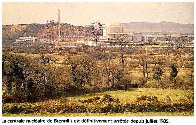 brennilis AREVA dans LA MER