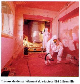 demantelement_el4 CENTRALE DE BRENNILIS