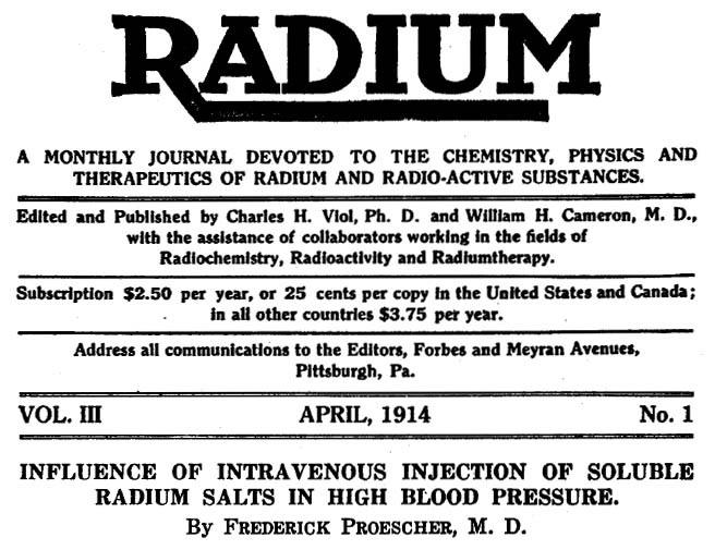 Pendant une bonne partie du XXe siècle, de nombreux médecins