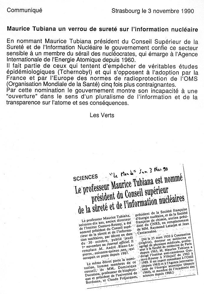 tubiana_nomme ACADEMIE DES SCIENCES
